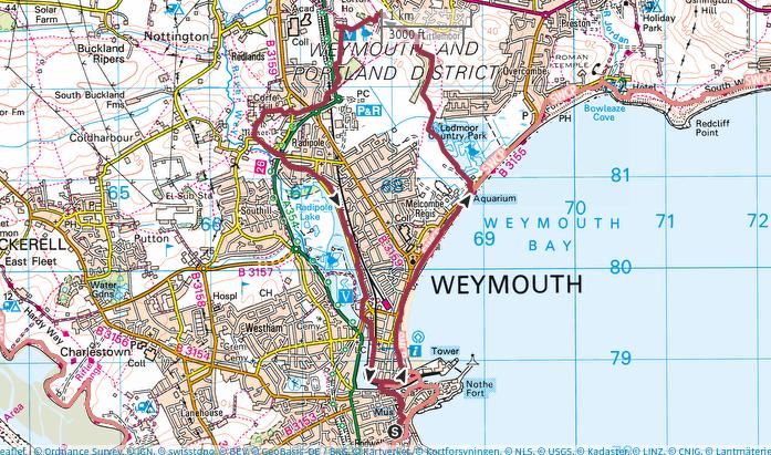 walsk in Weymouth